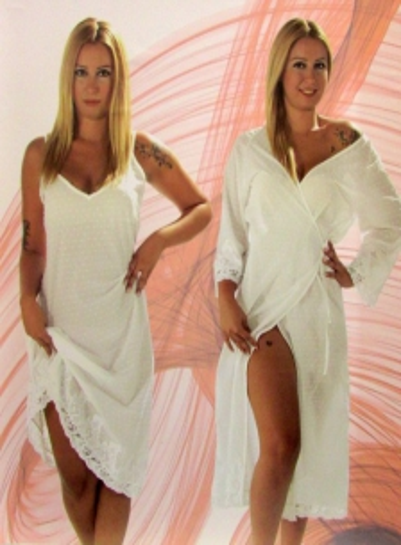 Maison D`or Aveedon Long комплект женский халат и пеньюар