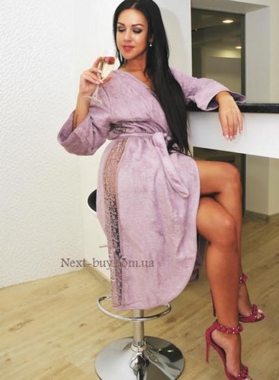 Maison D'or Felissia женский длинный махровый халат