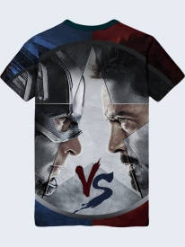 Футболка Civil War