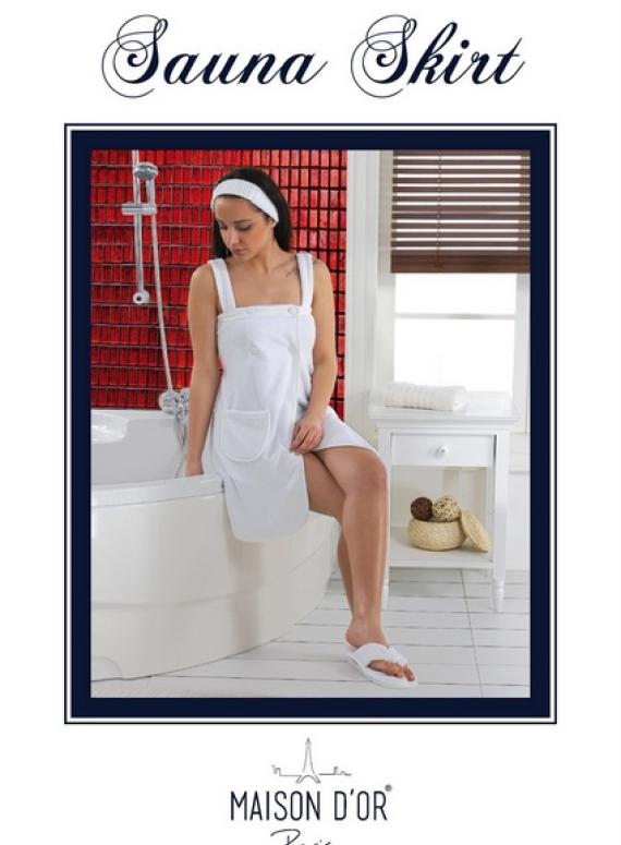 Maison D`or Sauna Skirt набор для сауны женский пудра
