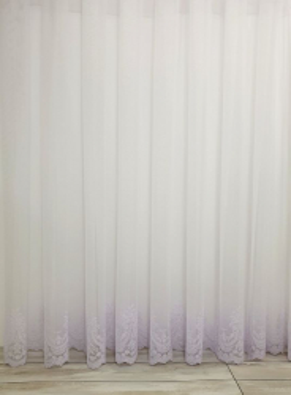 Тюль грек-сетка Bridalveil белый