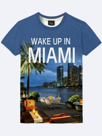Футболка Wake Up In Miami