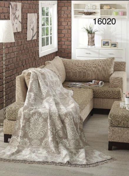 Плед хлопковый Sarar Cotton Blanket (16020) 200х240см
