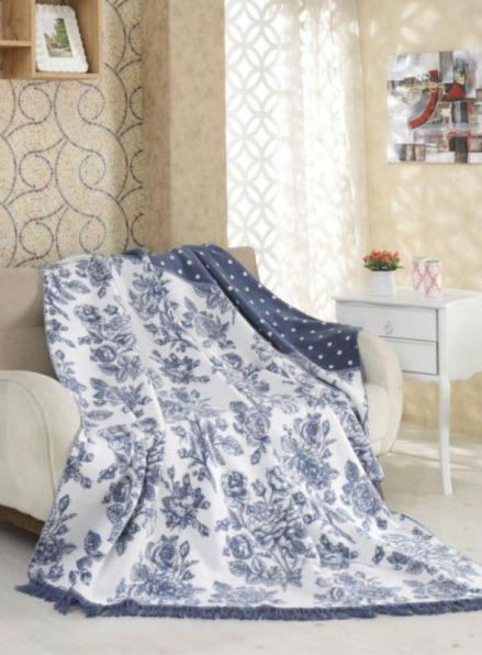 Плед хлопковый Sarar Cotton Blanket (1741A) 200х240см