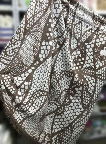 Плед хлопковый Sarar Cotton Blanket (1757B) 200х240см