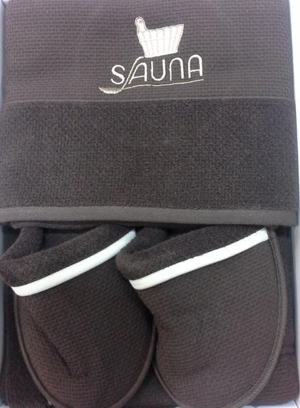 Maison D`or Sauna Dufour набор для сауны мужской шоколадный