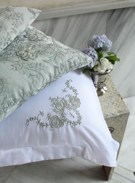 Pepper Home Daisy yesil элитное постельное белье