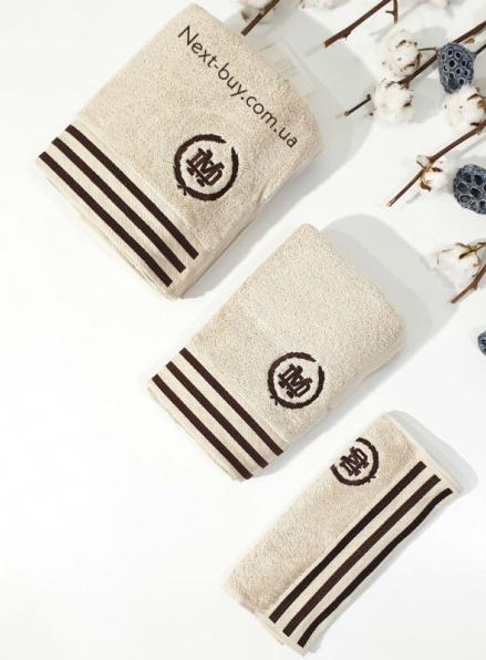 Maison D'or Delon Cotton набор мужской набор полотенец бежевый