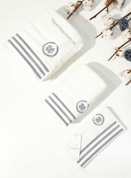 Maison D'or Delon Cotton набор полотенец для мужчин кремовый с серым