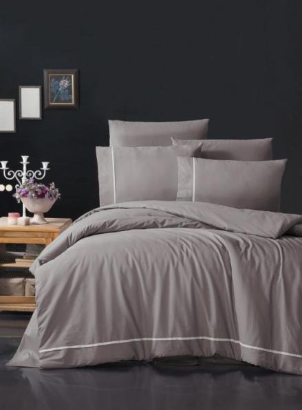 First Сhoice Alisa Lilac постельное белье ранфорс Deluxe евро 200х220