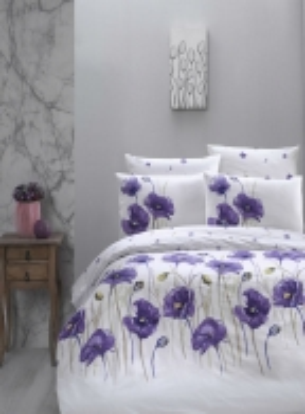 First Сhoice Bozca lila постельное белье ранфорс семейный 160х220х2