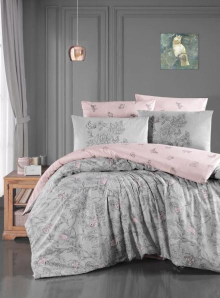 First Сhoice Paradise grey постільна білизна ранфорс сімейний 160х220х2