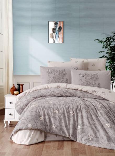 First Сhoice Paradise mink постільна білизна ранфорс сімейний 160х220х2