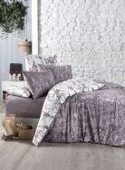 First Сhoice Zena Lilac постельное белье ранфорс семейный 160х220х2