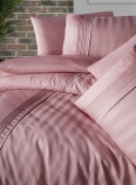 First choice Modalife Coral delux сатин постельное белье евро 200х220