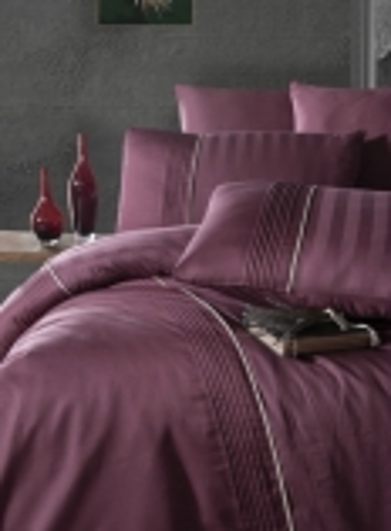 First choice Modalife Rose delux сатин постельное белье евро 200х220