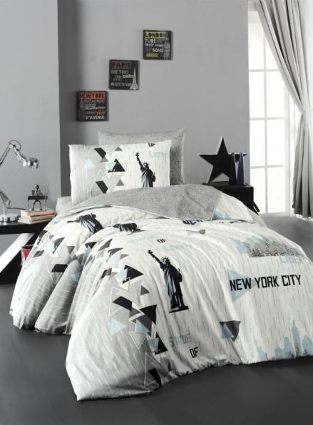 First choice New York постельное белье ранфорс полуторный 160х220