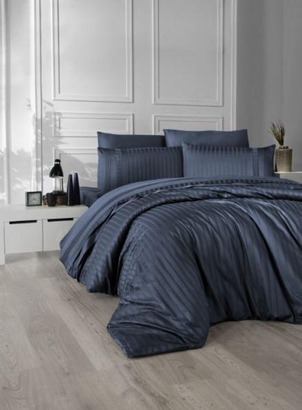 First choice New trend Denim delux сатин постельное белье евро 200х220
