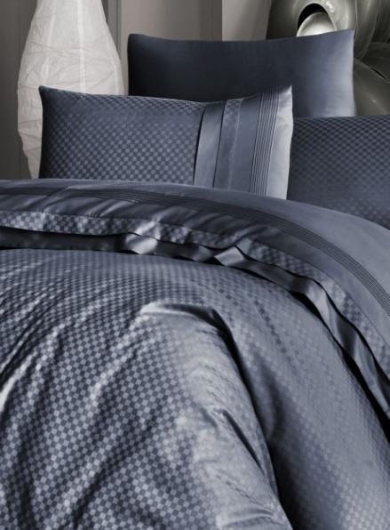 First choice Square style Denim delux сатин постельное белье семейный 160х220(2)