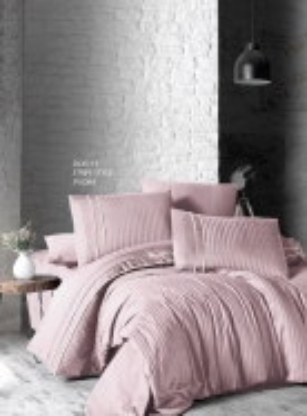 First choice Stripe style pudra delux сатин постельное белье семейный 160х220(2)