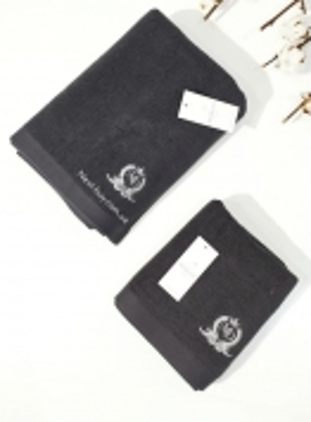 Maison D´or махровое полотенце для лица LUXFORD серый