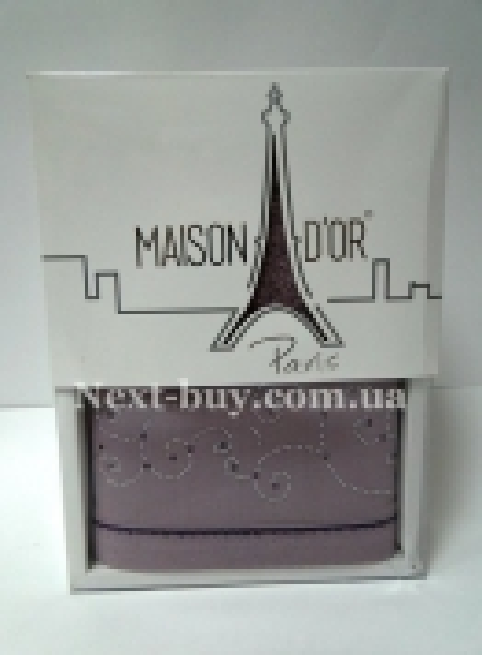 Махровое полотенце Maison D'or Dalyy 50х100см в коробке фиолетовый
