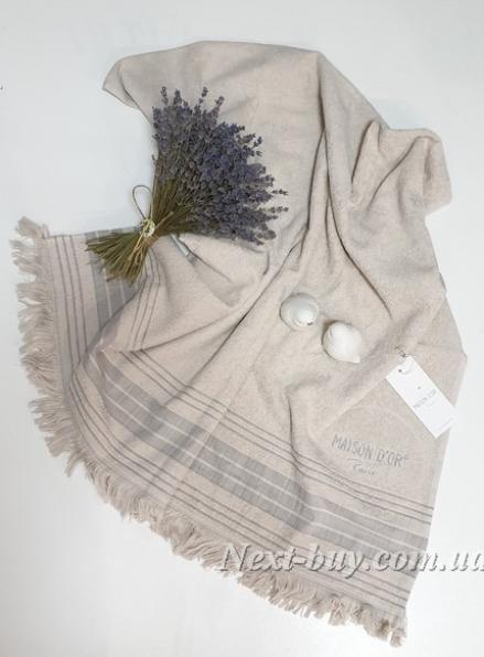 Maison D´or Pestemal Anastasya пештемаль полотенце для сауны бежевое
