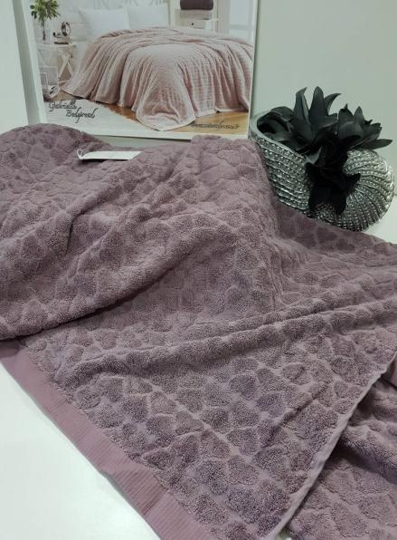 Maison D'or Paris Gabrielle Bedspread махровая простынь хлопок фиолетовый