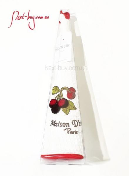 Maison Dor Fruit cherry полотенце вафельное с апликацией