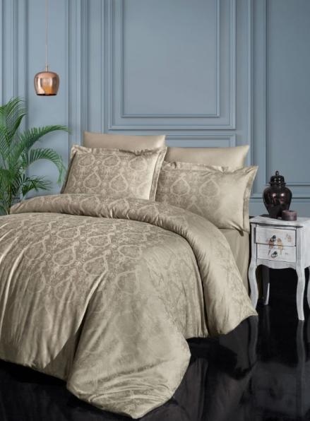 Постельное белье модал First choice Jade Badem евро 200х220