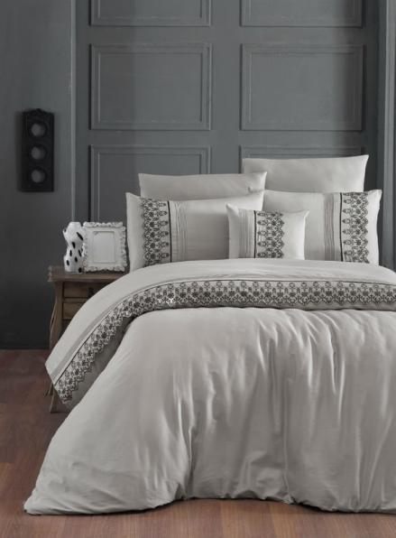 First choice Mona Toprak vip сатин постельное белье евро 200х220