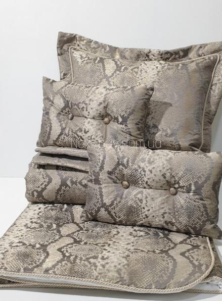 Pepper Home Cleo элитное покрывало 270х260см с наволочками и декоративными подушками