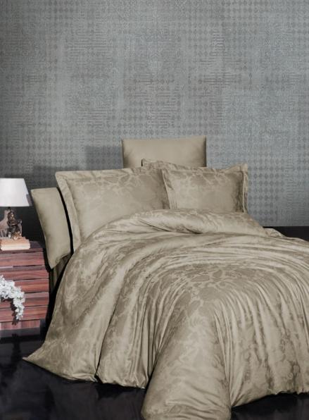 First choice Saral Badem постельное белье сатин-жаккард евро 200х220