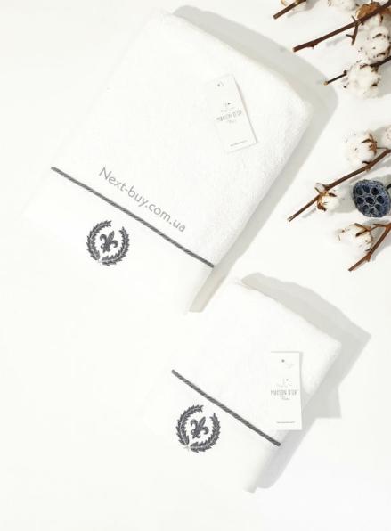 Maison D´or Seymour банное махровое полотенце 85х150 см белый