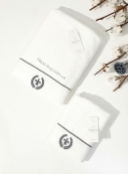 Maison D´or Seymour полотенце лицевое махра белый