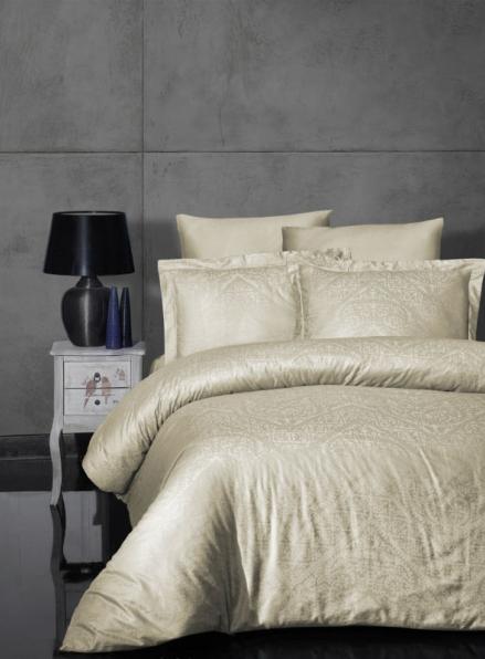 First choice Siray S.Kahve постельное белье сатин-жаккард евро 200х220