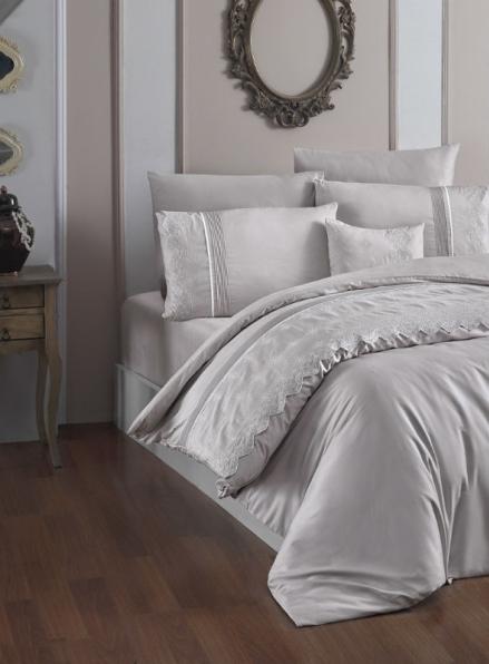 First choice Stella Sampanya vip сатин постельное белье евро 200х220