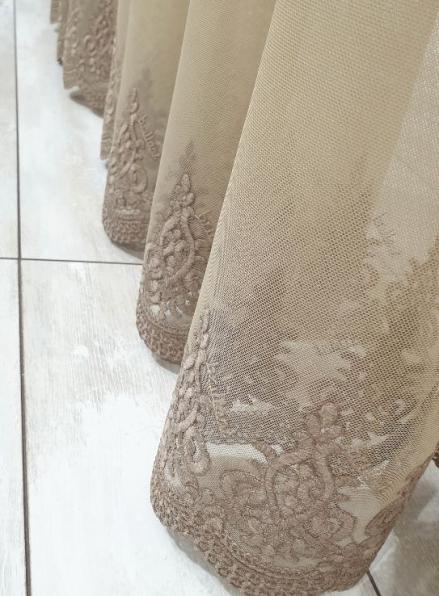 Тюль грек-сетка Low хаки