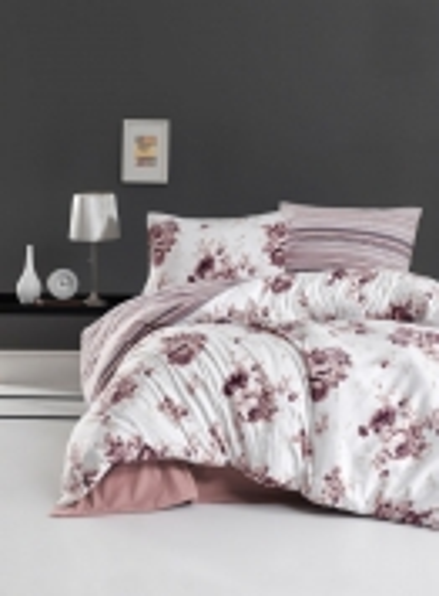 Постельное белье First Choice Flannel Jaden Pudra евро 200х220