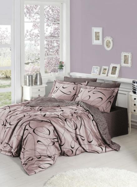 First choice CALISTO pudra постельное белье сатин евро 200х220
