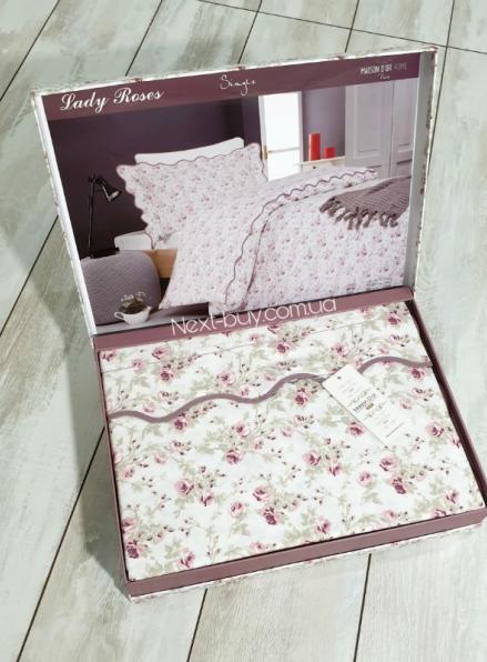 Maison D'or Lady Roses постельное белье полуторка 160х200 сатин