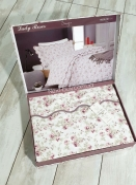 Maison D'or Lady Roses постільна білизна полуторка 160х200 сатин