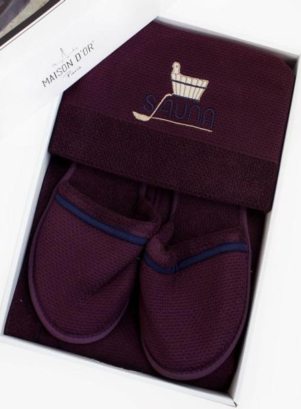 Maison D`or Sauna Dufour набор для сауны мужской фиолетовый