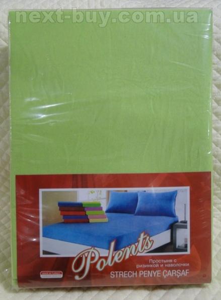 Простынь Polents на резинке с наволочками 100% cotton Турция  nt-pr08