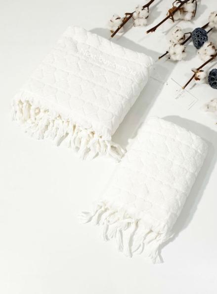 Maison D´or Gabrielle Towel набор полотенец 50х100 85х150 кремовый