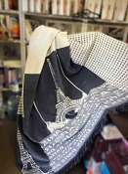 Плед хлопковый Sarar Cotton Blanket (16024 gri) 200х240см