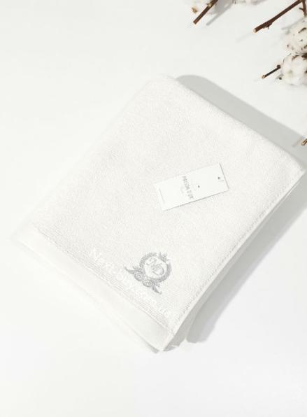 Maison D'or банне махрове полотенце 85х150см LUXFORD білий