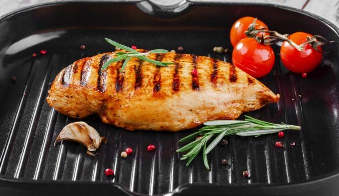 Как приготовить мясо на сковороде гриль рецепты