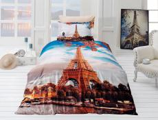 Постельное белье First choice 3D PARIS CIYY 160х220 сатин