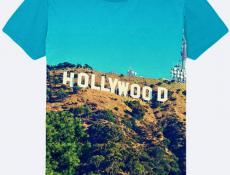 ФУТБОЛКА HOLLYWOOD LOS ANGELES